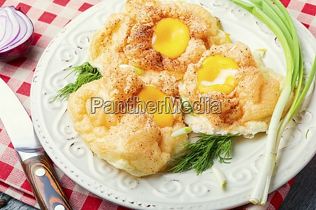homemade orsini eggs