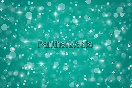 abstract teal blue christmas winter background