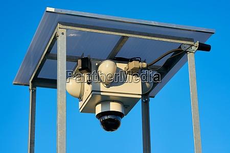 surveillance cameras for monitoring public places