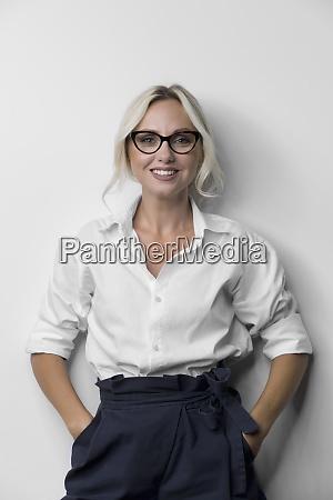 portrait beautiful stylish woman
