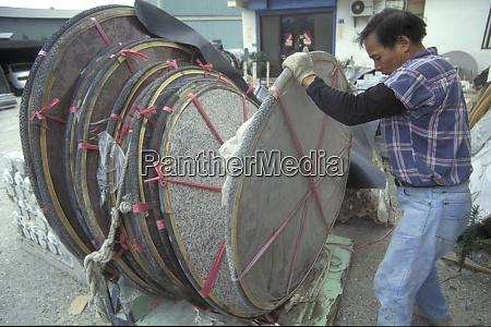 taiwan economy stone finishing