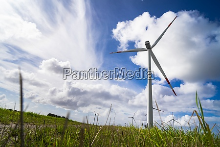 wind turbines deliver green energy through