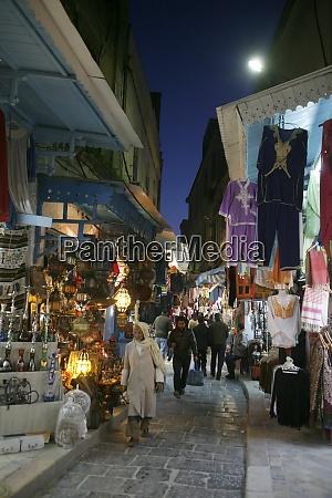 tunisia tunis city medina souq market