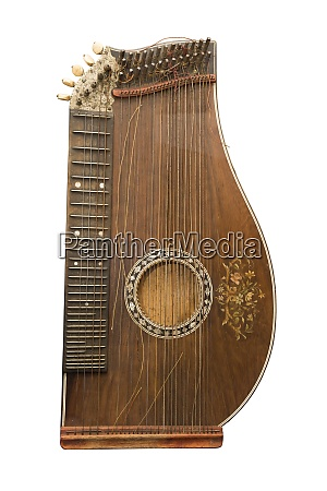 zither traditional a german musical instrument