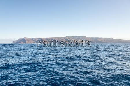 the island of la gomera one