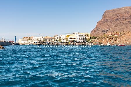 the harbor of vueltas on la