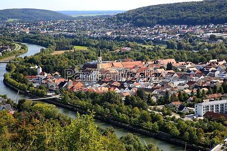 panorama hike over kelheim with various