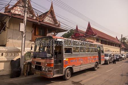 thailand phetburi public bus