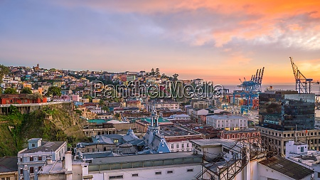the historic quarter of valparaiso in