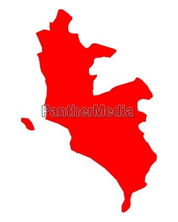 map of lima metropolitana