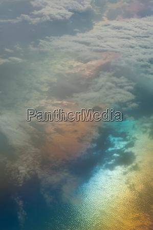 aerial view of the tyrrhenian sea