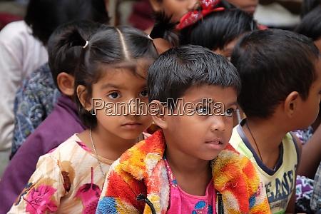 kids at school in kumrokhali west