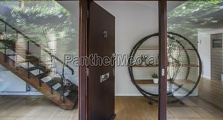 open home showcase front door
