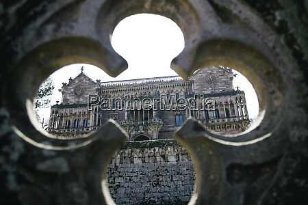 spain cantabria comillas sobrellanos palace looking