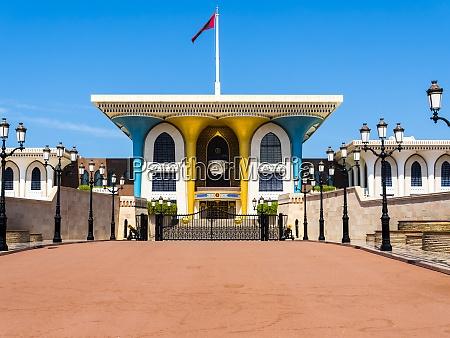 oman muscat al alam palace qasr