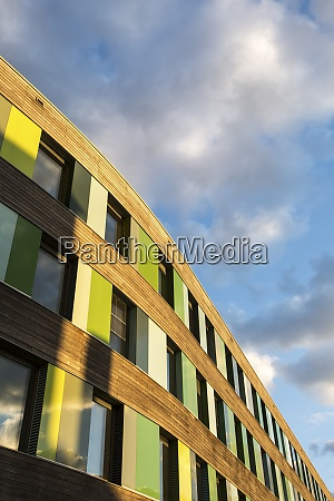 germany dessau facade of bundesumweltamt at