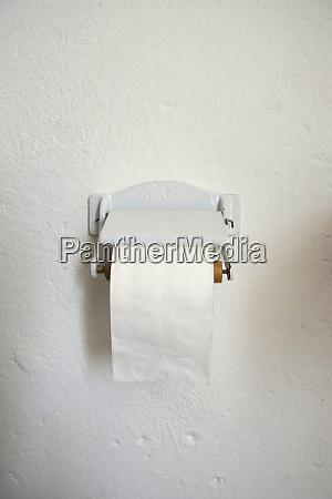 porcelain toilet roll holder