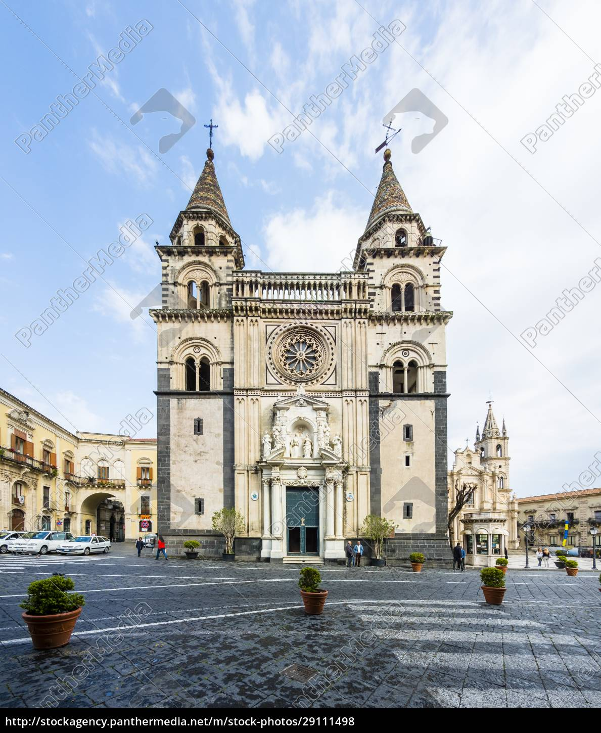 italy, , sicily, , acireale, , acireale, cathedral - 29111498