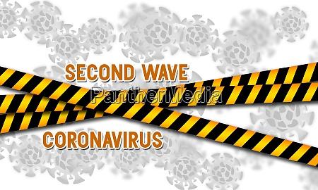 second wave coronavirus pandemic outbreak