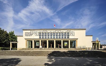 germany saxony zittau gerhart hauptmann theatre