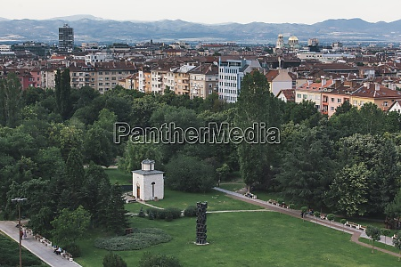 bulgaria sofia city view view from
