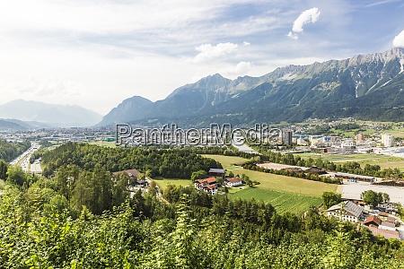 austria tyrol innsbruck city onriver innin