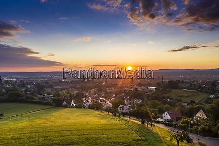 beautiful view of bamberg bavaria germany