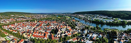 panorama picture of kelheim