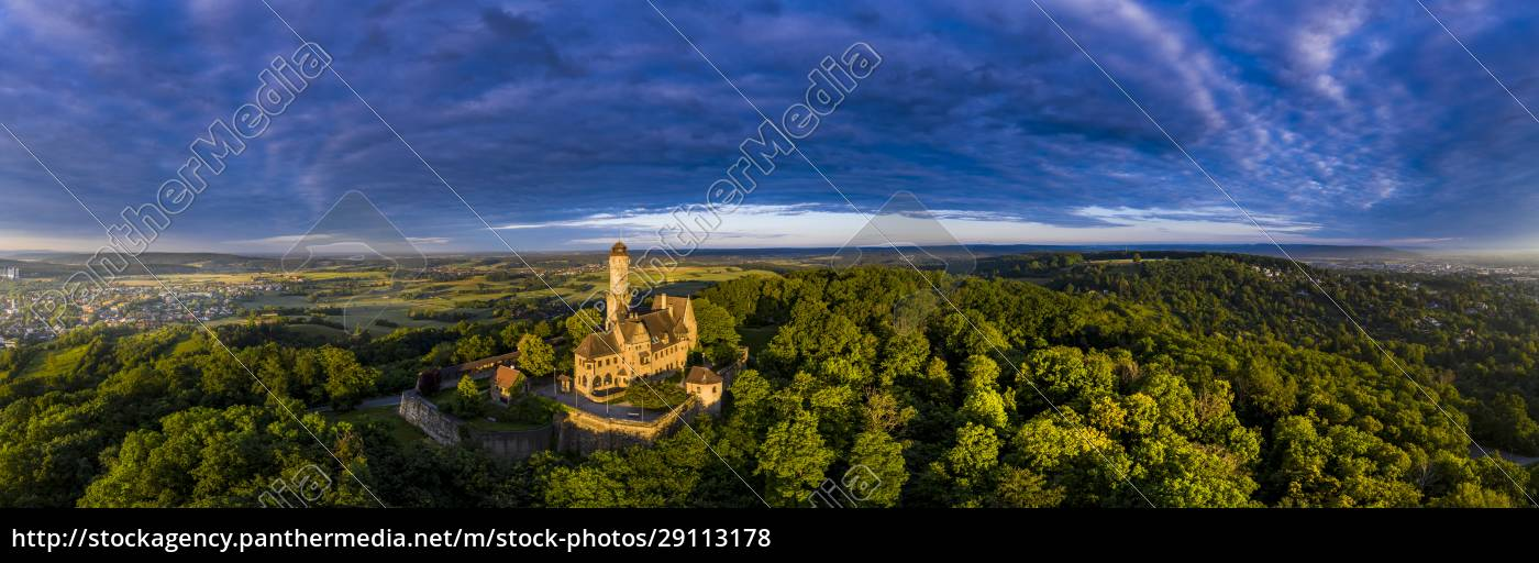 germany, , bavaria, , bamberg, , helicopter, panorama, of - 29113178