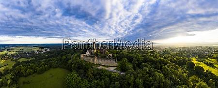 germany, , bavaria, , bamberg, , helicopter, panorama, of - 29113194