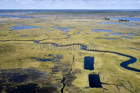 usa, , maryland, , drone, view, of, marshes - 29113291