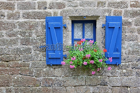 france brittany locranan window of historical