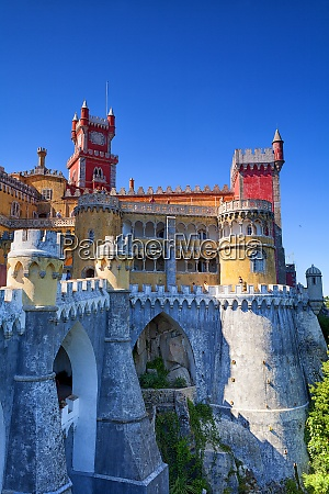 portugal sintra national palace
