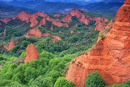 spain province of leon scenic view