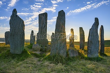 uk scotland callanish callanish stones at