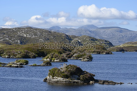 uk scotland coastline of isle of