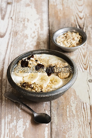 banana porridge and oats
