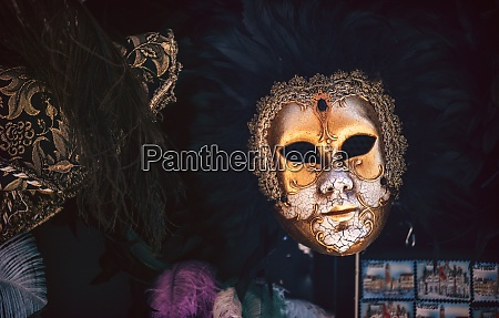 italy venice typical carnival mask