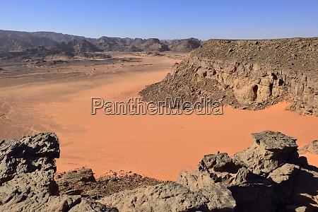 africa algeria sahara tassili najjer national