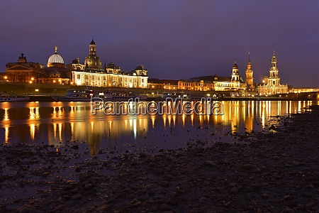 germany saxony dresden old town and