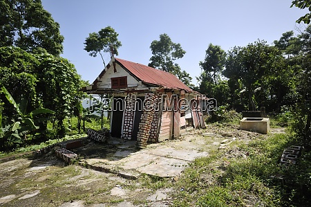 haiti jacmel half timbered house destroyed