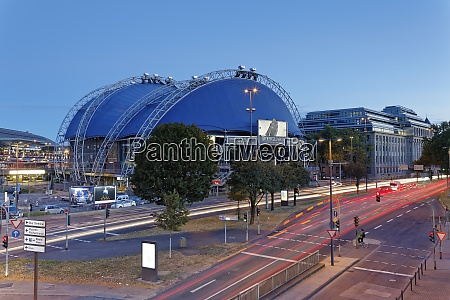 germany cologne musical dome at twilight