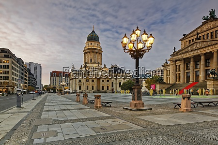 germany berlin view to konzerthaus and