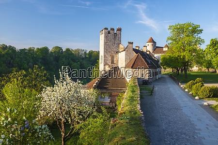 germany upper bavaria burghausen burghausen castle