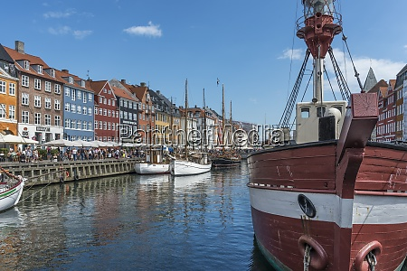 denmark copenhagen nyhavn canal