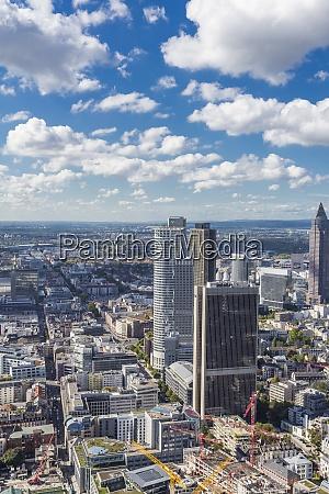 germany frankfurt view to the city