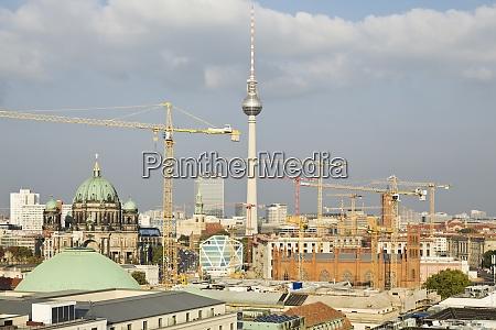 germany berlin view to berliner