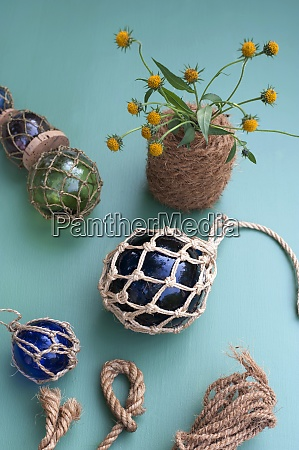 diy maritime decorations made of crystal