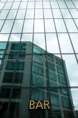 switzerland zurich glass facade of prime