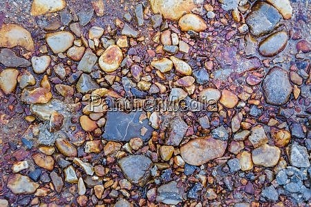 stones ground abstract texture